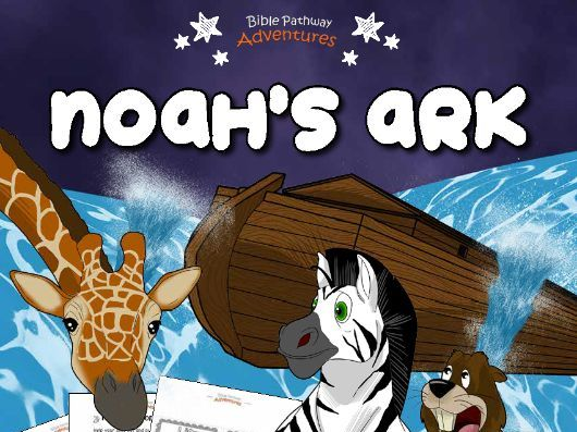 Noah's Ark Activity Book & Lesson Plans (3-5 year olds)