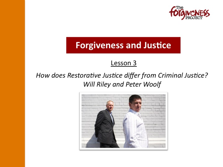 Forgiveness and Justice PPT