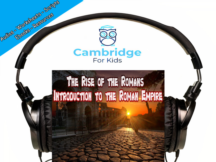 Who were the Ancient Romans? Audiobook & Comprehension Activities / Worksheets / eBooks