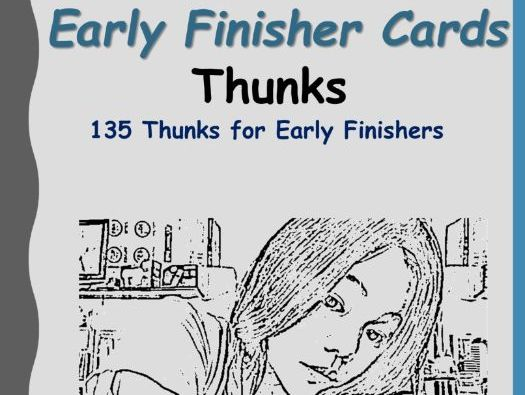 Early Finisher Cards Thunks