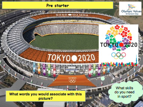 2020 Olympic Games: Drop Down Humanities and Enterprise Day.