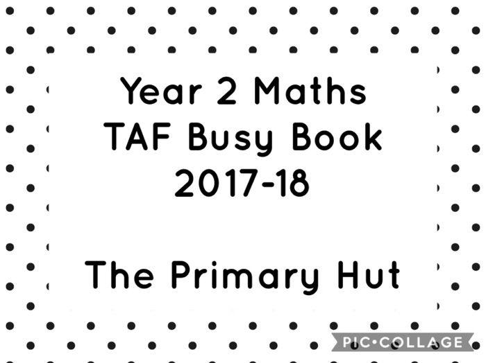 Year 2 Maths TAF Busy Book 2017-18