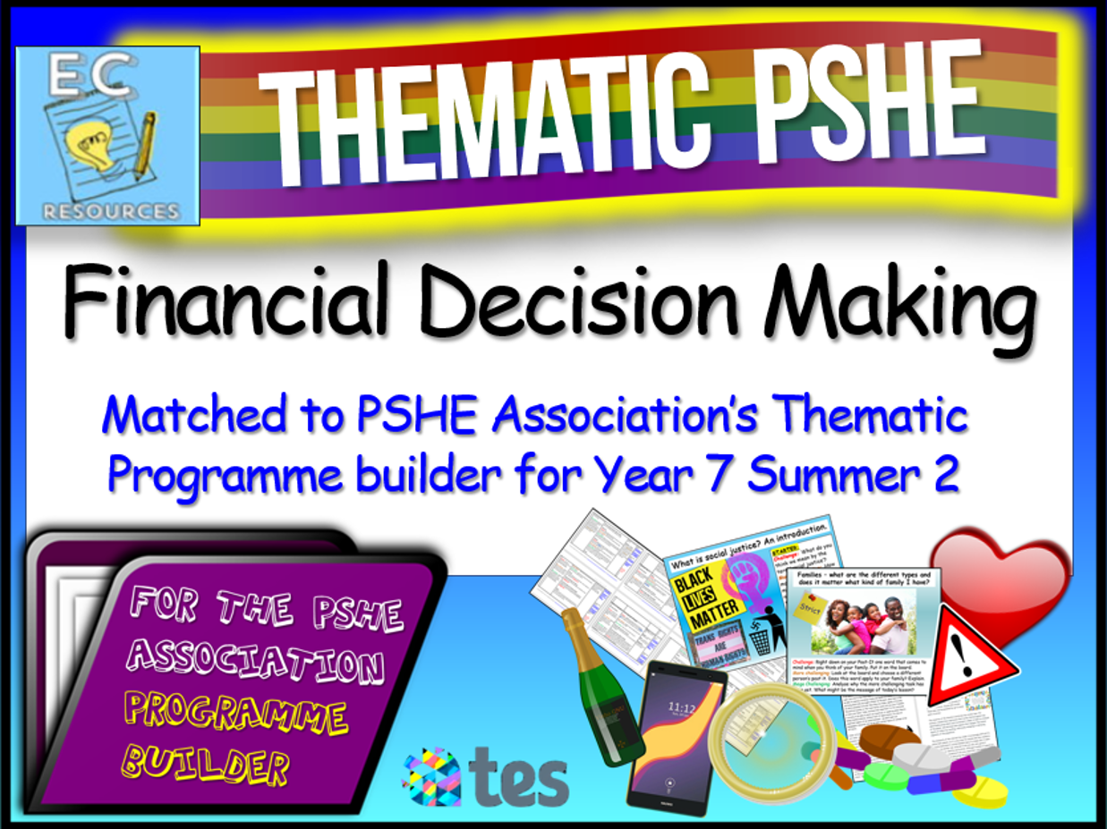 Financial Decision Making Thematic PSHE