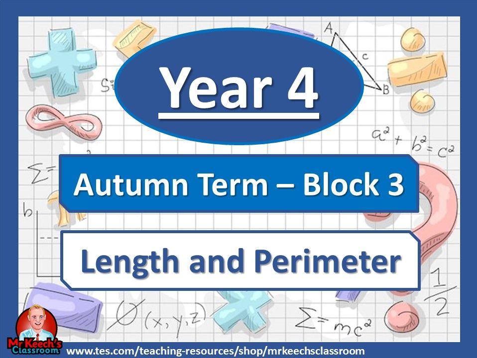 Year 4 - Length and Perimeter - Autumn Term Block 3 - Whit Rose Maths