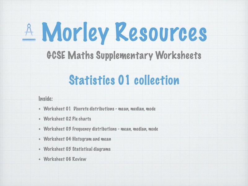 Statistics 01 GCSE Maths Collection