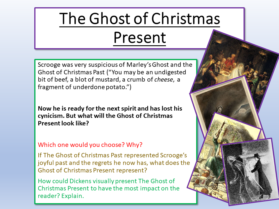 The Ghost Of Christmas Present.A Christmas Carol The Ghost Of Christmas Present