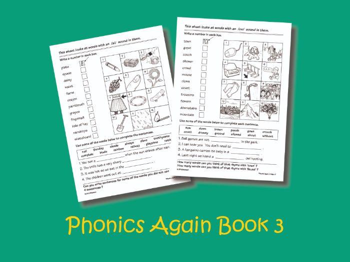 Phonics Again Book 3