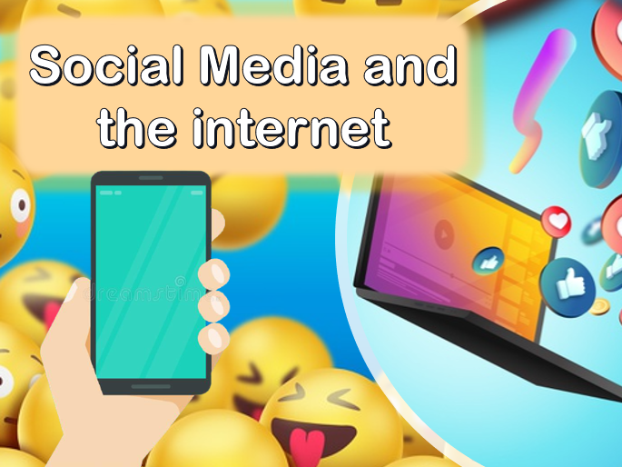 Social Media and The Internet. ESL PowerPoint for A1/A2 Level Students