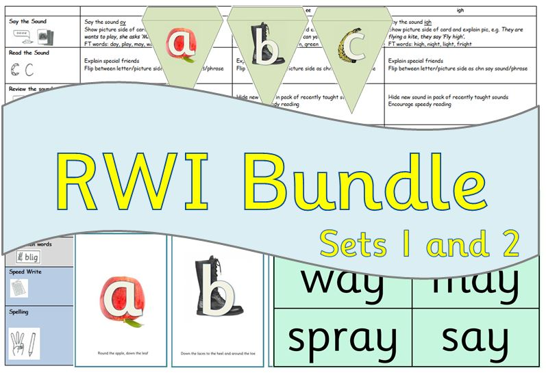 RWI: Read Write Inc Sets 1 and 2 Planning Bundle