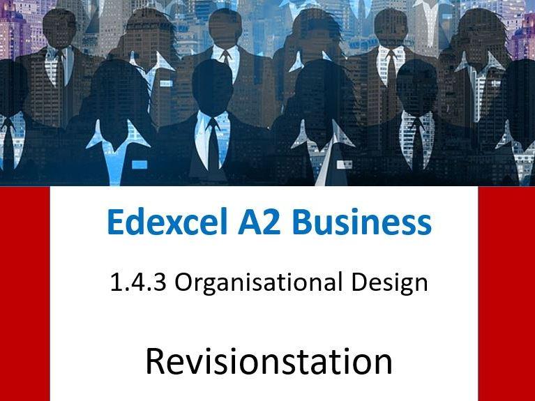 2019 New version - Edexcel A Level business - Theme 1 -143 Organisational design