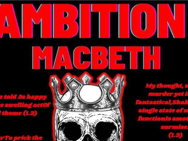 Macbeth Ambition Quotes