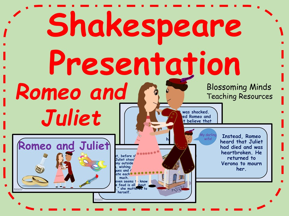 Romeo and Juliet Presentation (KS2) - William Shakespeare