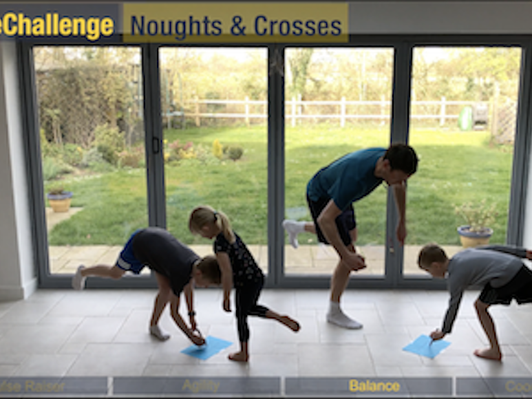 HomeChallenge Example Video for KS1 pupils to do at home