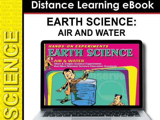Earth Science: Hands-On Science Experiments - Air and Water (eBook)