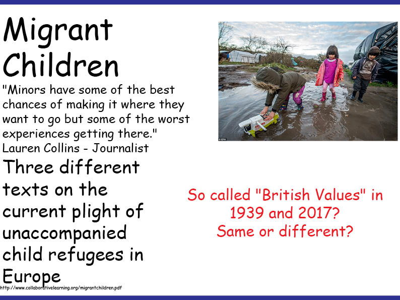 Information Gap on Migrant Children