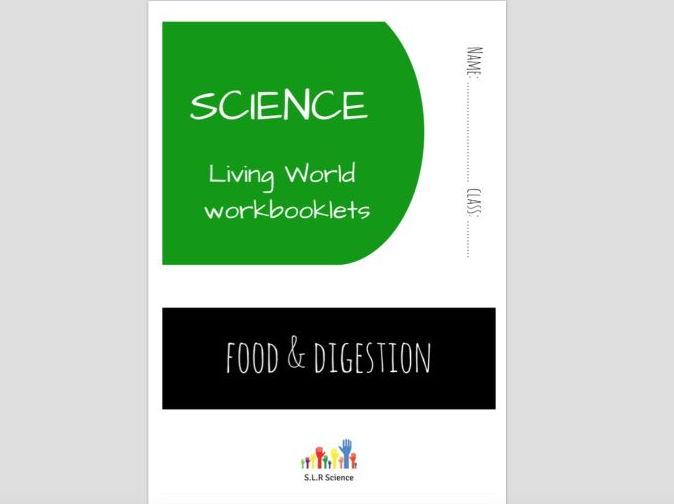 SPECIAL EDUCATION (SCIENCE) - FOOD, DIGESTION, DIET, ENERGY science workbooklet