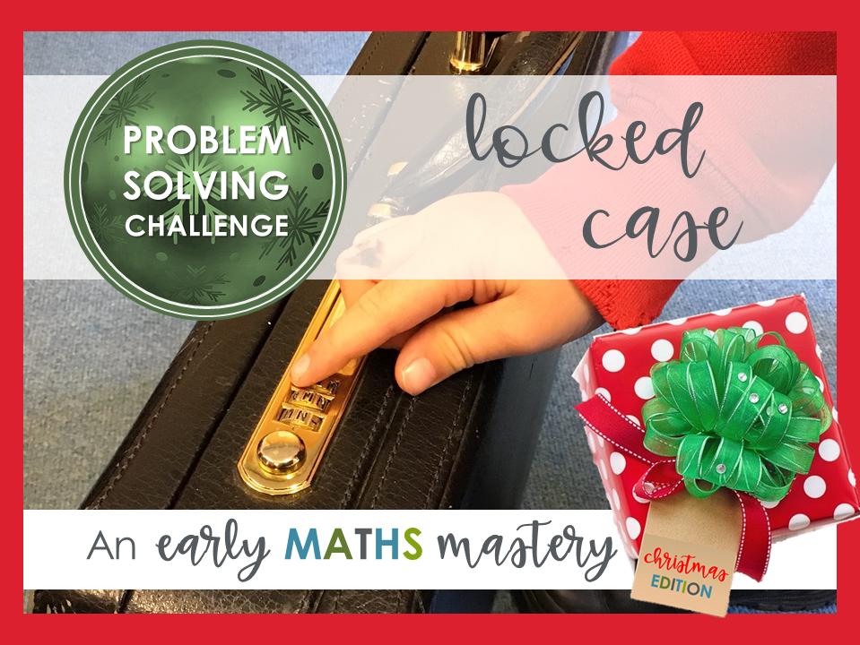 Christmas problem solving activity