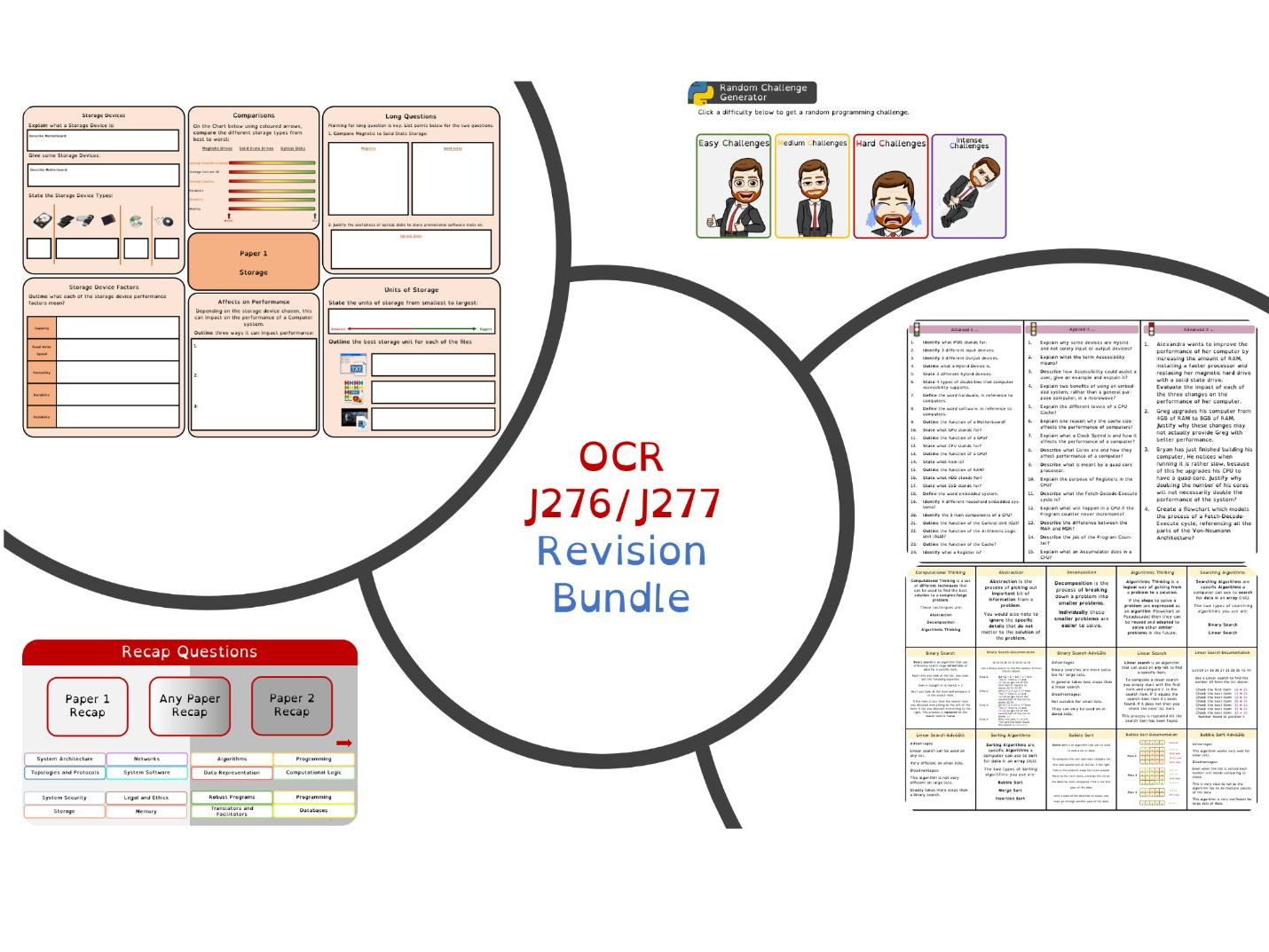 OCR J276/J277 - Revision Bundle