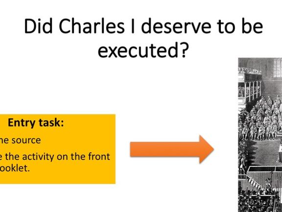 Did Charles I deserve to be executed?