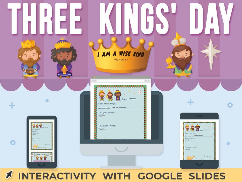 Three Kings' Day Activity - Google Slides