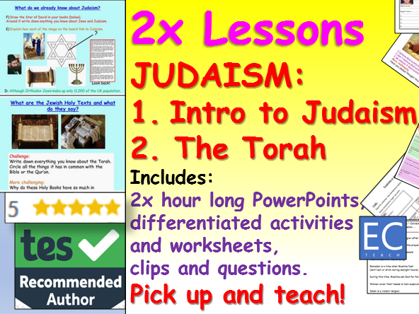 Judaism intro and Torah