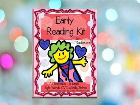 Book 3 - Sight Word Take Home Program for Emergent Readers