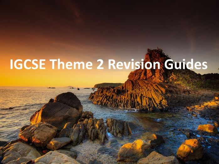 IGCSE Theme 2 Revision Guides