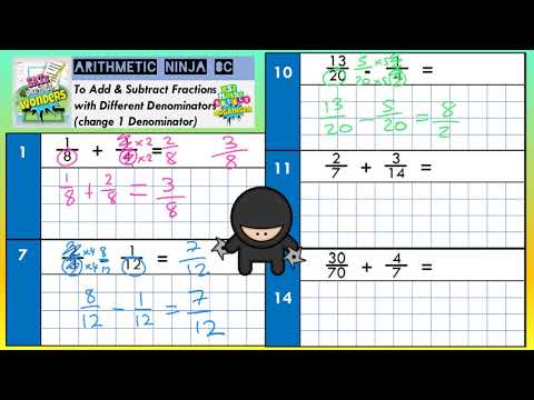 Arithmetic Ninjas x42 Booster Pack for KS2 Maths SATs with YouTube Support Videos