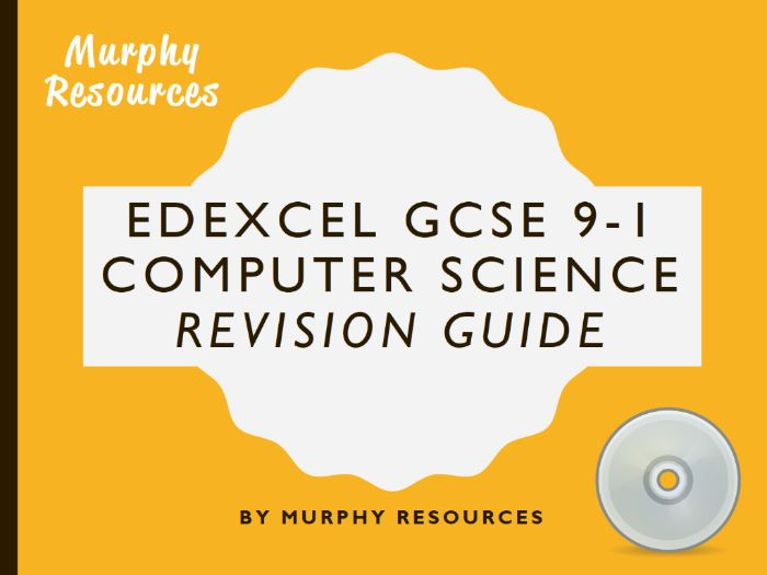 GCSE 9-1 Computer Science Revision for Edexcel (Sample)
