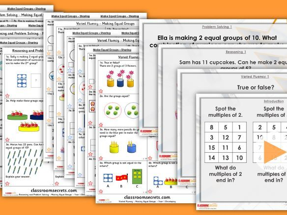 Year 1/2 Mixed Age Spring Block 1 Step 20 Lesson Pack