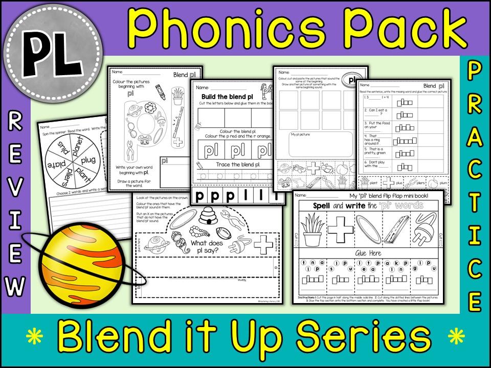 Phonics: Phonics Blend PL