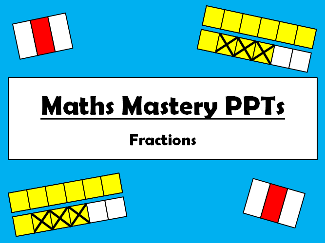 Mastery Fractions - Understand parts to a whole - Shanghai