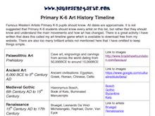 50 Artists Primary pupils should know