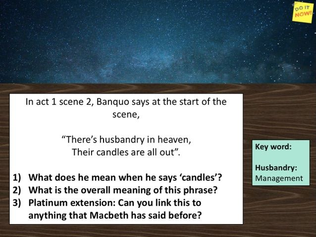 Macbeth soliloquy act 2 scene 1 - Is this a dagger I see before me?