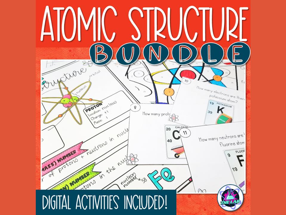 Atomic Structure Activities Bundle