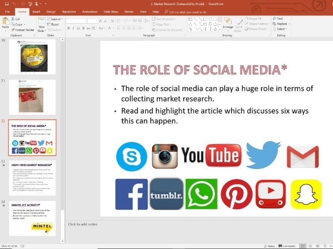 2. Market Research and Social Media - Topic 1.2 - Edexcel GCSE Business - Theme 1