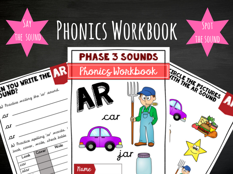 'Ar' Phonics Workbook