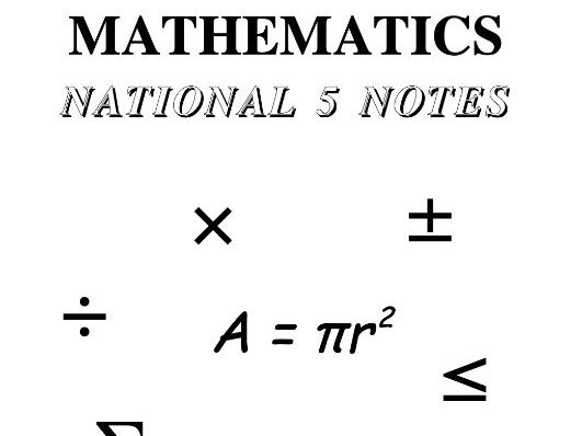 National 5 Maths Notes