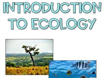 Introduction to Ecology - No prep lesson