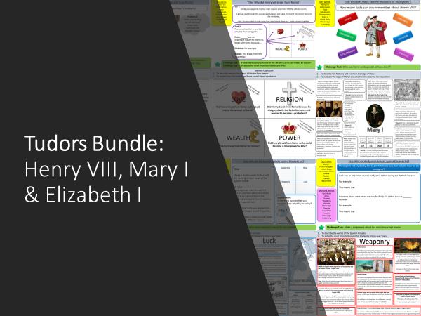 Tudors: Henry VIII, Mary I and Elizabeth Bundle