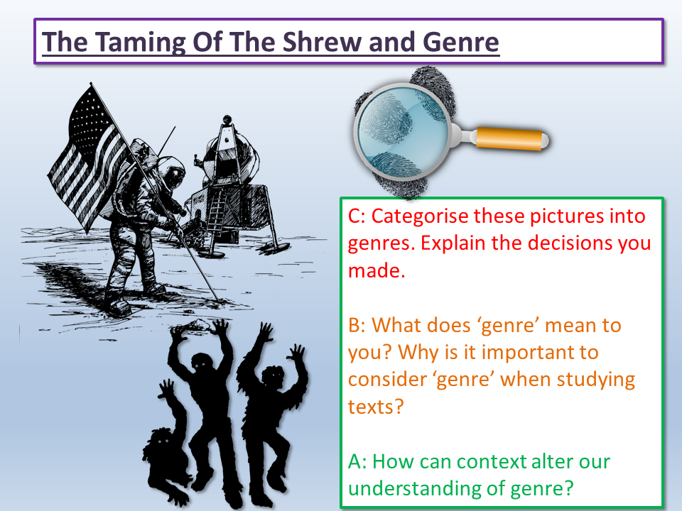 The Taming of the Shrew and Genre