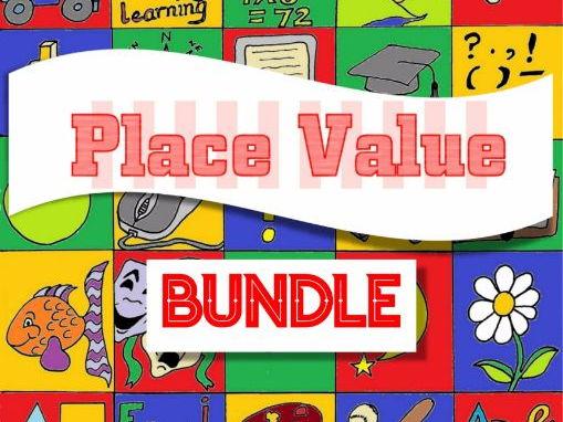 Place Value Practice Pack Bundle