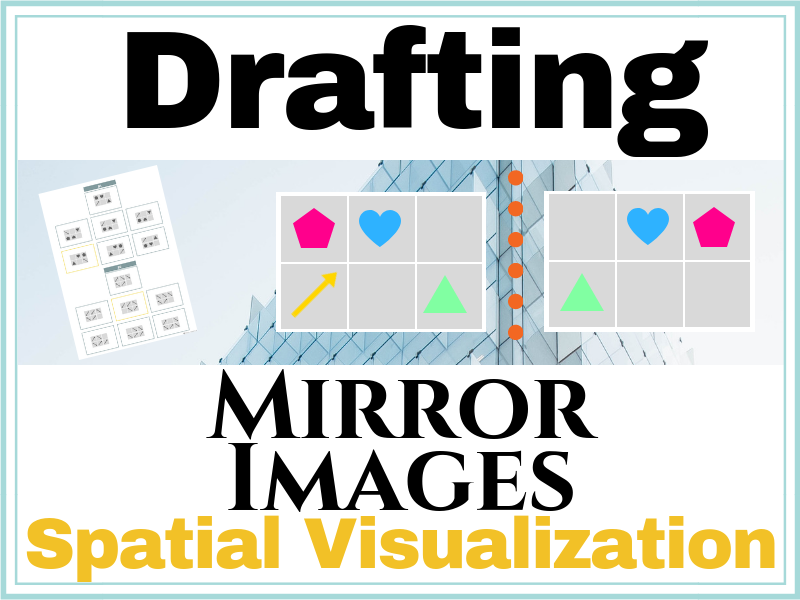Mirror Image Spatial Visualization Exercises