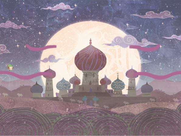 1001 Nights Design and Animation project