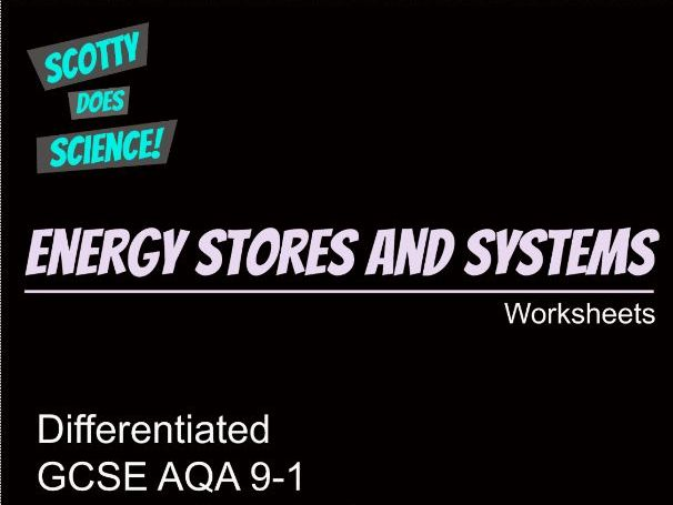 GCSE Physics 9-1 Energy Stores and Systems