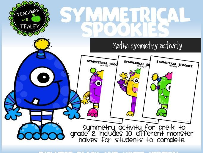 Symmetry Art Activity for early learners