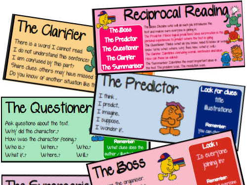 Reciprocal Reading prompts for Guided Reading