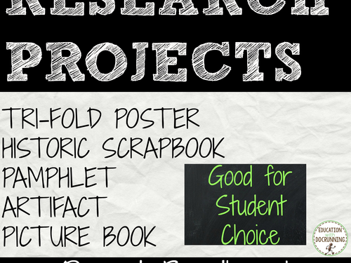 Projects for Any Subject Bundle #1
