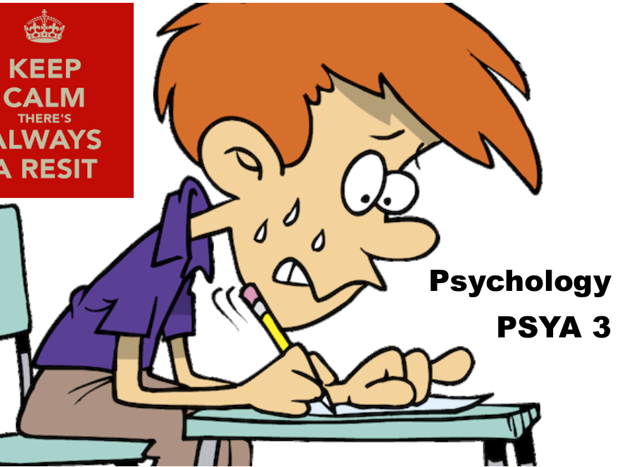 SPECIAL OFFER - Old Specification - PSYA 3 Workbooks