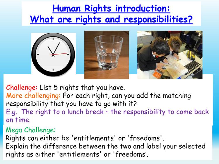 Human Rights + Responsibilities Citizenship